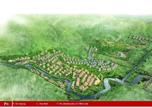 P: Yen Quang L: Hoa Binh T: The detailed plan of 1/500 scalePn