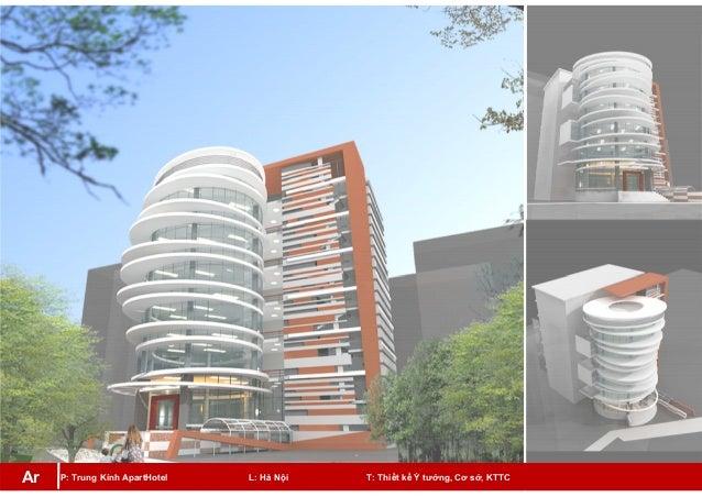 P: Trung Kính ApartHotel L: Hà Nội T: Thiết kế Ý tưởng, Cơ sở, KTTCAr