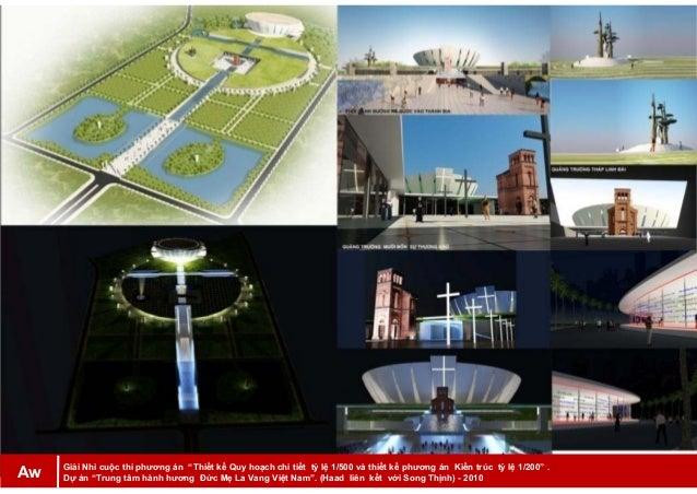 """Giải Nhì cuộc thi phương án """"Thiết kế Quy hoạch chi tiết tỷ lệ 1/500 và thiết kế phương án Kiến trúc tỷ lệ 1/200"""" . Dự án ..."""