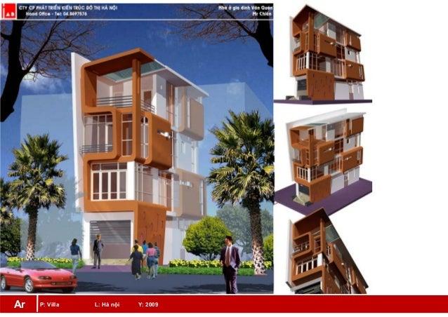 P: Villa L: Hà nội Y: 2009Ar
