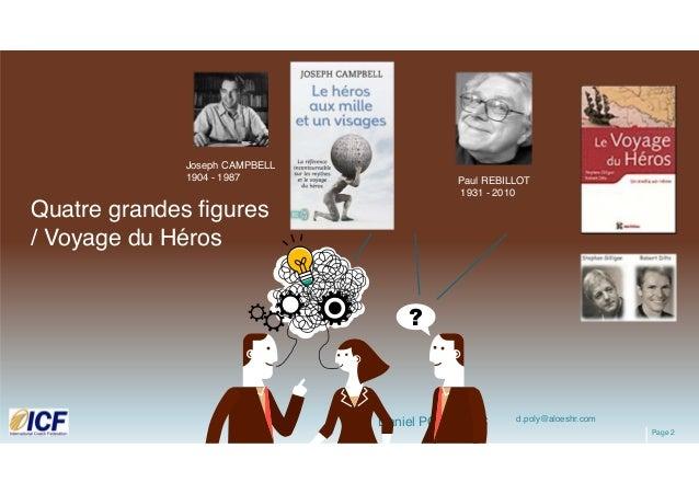 """ICF Synergie : """"Le Coaching, un Voyage du Héros"""" de Daniel Poly - SLIDEs Slide 3"""