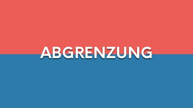Abgrenzung | German to English | Law: Contract(s)