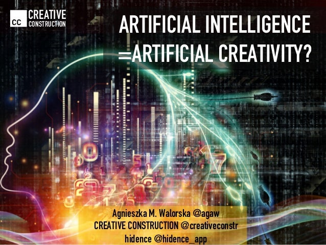 Technology Management Image: Artificial Intelligence = Artificial Creativity?