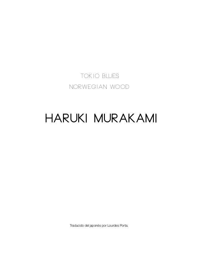 TOKIO BLUES Slide 2