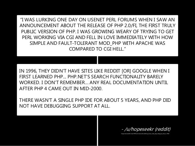 A World Without PHP