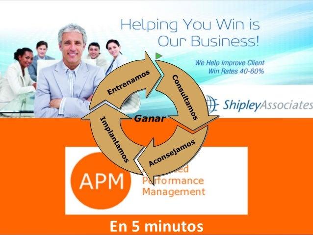 APM y Shipley Ganar En 5 minutos