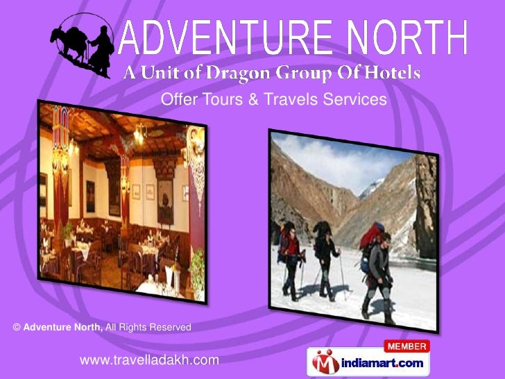 Offer Tours & Travels Services© Adventure North, All Rights Reserved              www.travelladakh.com