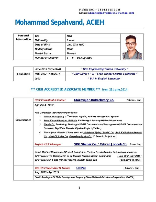 cv-m-sepahvand-25nov2014-with-table-1-638 Tabular Resume Format For Educational Purposes on