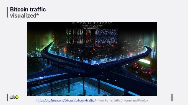 Bitcoin traffic visualized* http://btc4me.com/bitcoin/bitcoin-traffic/ - *works i.e. with Chrome and Firefox