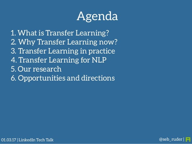 Transfer Learning -- The Next Frontier for Machine Learning Slide 2