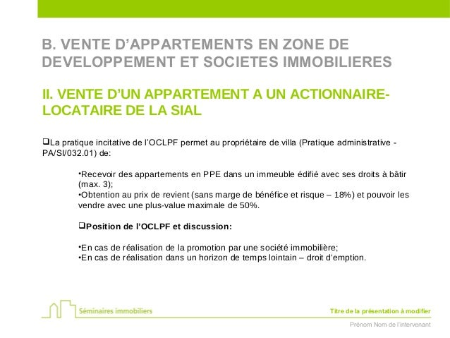 D tention et vente d 39 appartements par une soci t immobili re aspect - Droit du locataire en cas de vente ...