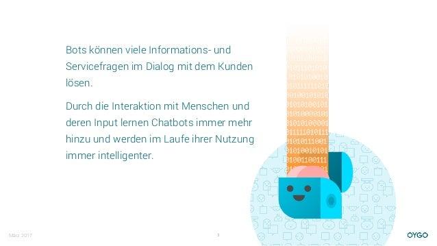 Warum Chatbots? Slide 3