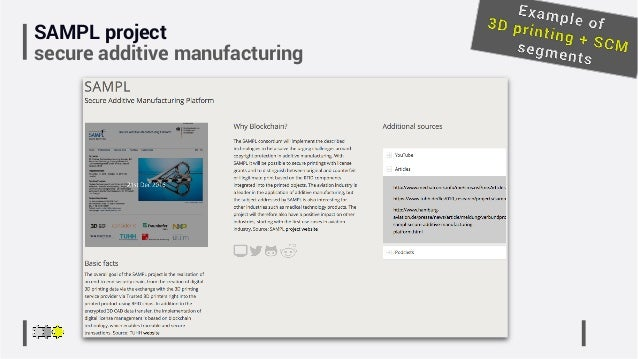 SAMPL project secure additive manufacturing