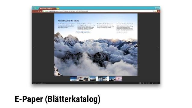 E-Paper (Blätterkatalog)