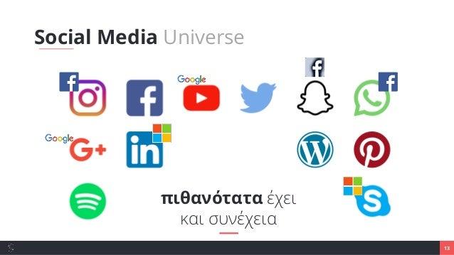 13 Social Media Universe πιθανότατα έχει και συνέχεια