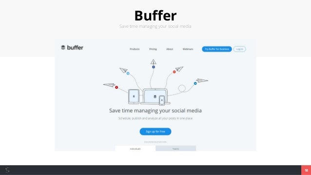 Buffer Save time managing your social media 18