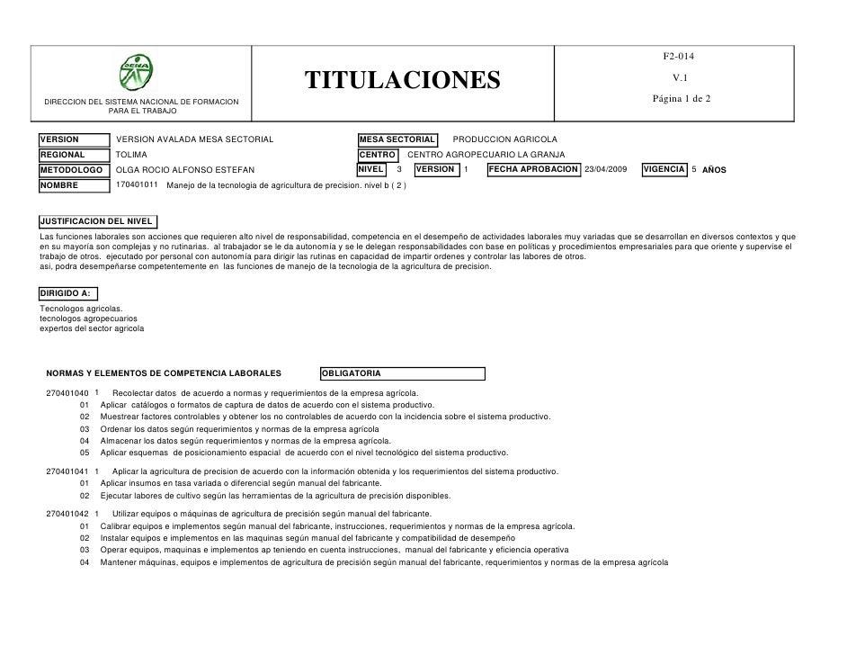 F2-014                                                                     TITULACIONES                                   ...