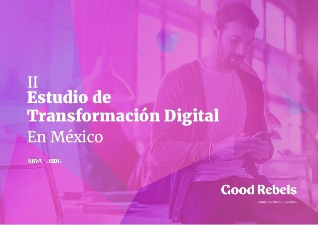 Estudio de Transformación Digital En México II