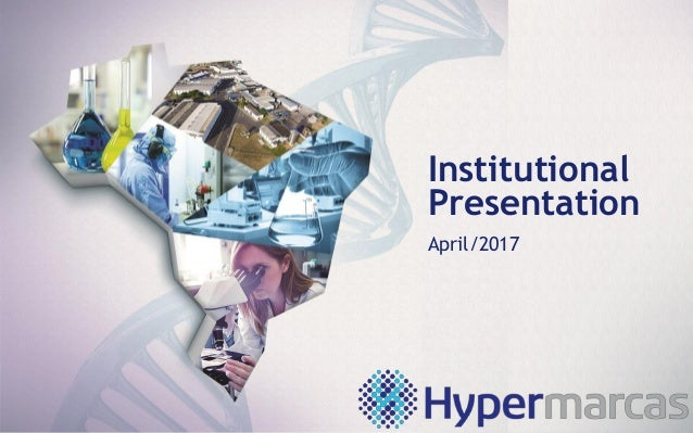 Institutional Presentation April/2017