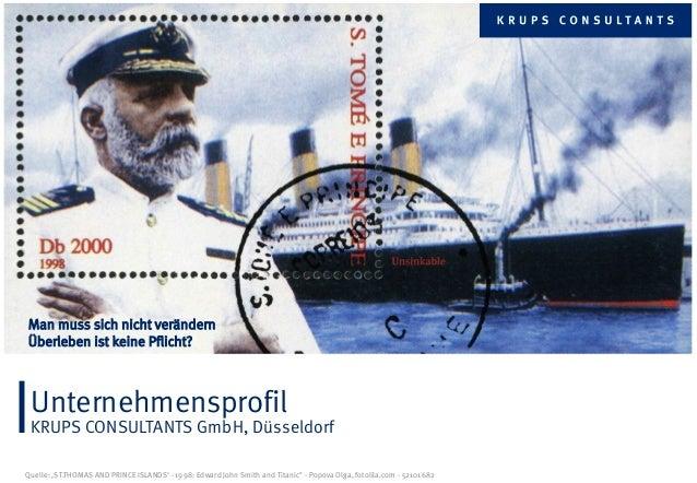 Unternehmensprofil der KRUPS CONSULTANTS GmbH