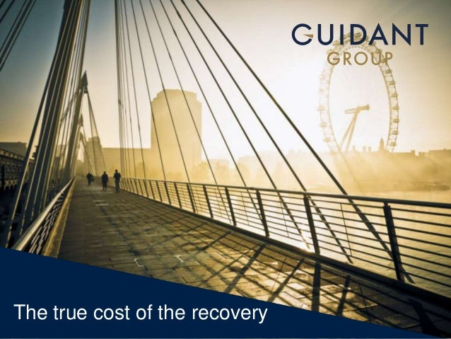 The true cost of the recovery