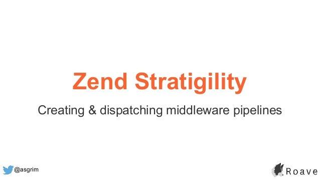 @asgrim Zend Stratigility Creating & dispatching middleware pipelines