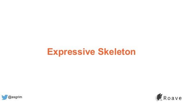 @asgrim Expressive Skeleton