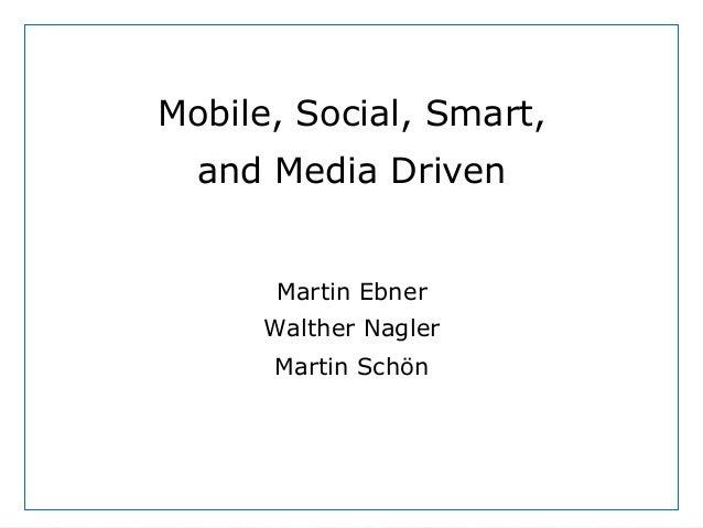 https://pixabay.com/de/vogel-tier-natur-strauss-strau%C3%9F-242715/ Mobile, Social, Smart, and Media Driven Martin Ebner W...