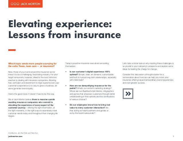 1jackmorton.com Which topic sends more people scurrying for the exits: Taxes, lawn care — or insurance? Now, those of you ...
