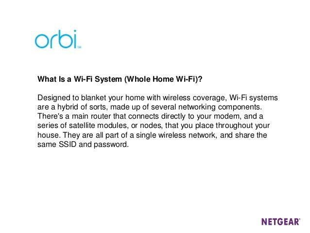 Webinar NETGEAR - Orbi WiFi System, la soluzione per il wifi ideale