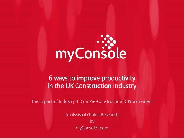 Construction industry in the uk