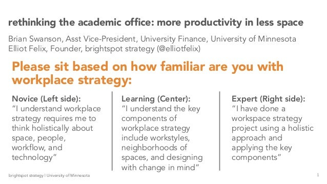 rethinking office space. rethinking the academic office 1brightspot strategy university of minnesota u201ci understand workplace requires me to think holistically space