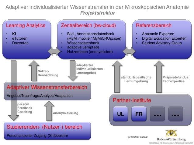 Institut für Molekulare und Zelluläre Anatomie gefördert durch: Partner-Institute Zentralbereich (bw-cloud) • Bild-, Annot...