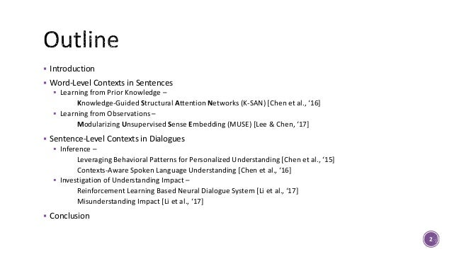 How the Context Matters Language and Interaction in Dialogues Slide 2