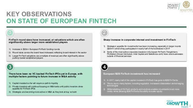 State Of European FinTech: Current Trends & Prediction 2017 Slide 2