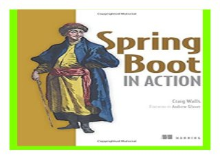 Spring Boot in Action book 227