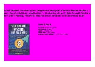 Stock Market Investing For Beginners Marijuana Penny Stocks Under 1