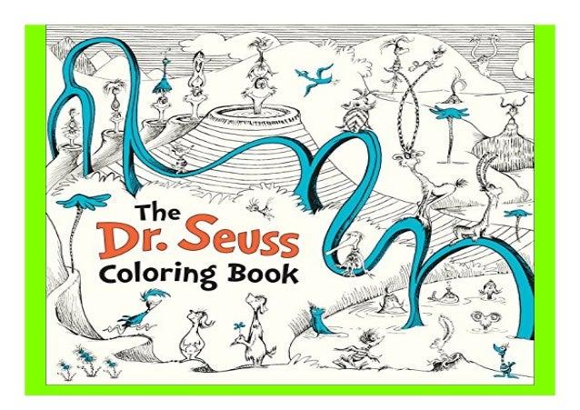 - The Dr. Seuss Coloring Book Book 913