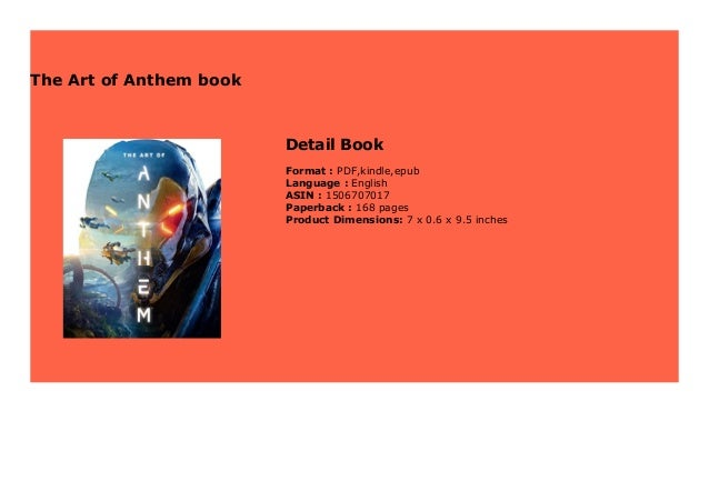 The Art Of Anthem Book 194