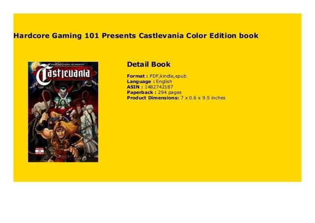 Hardcore Gaming 101 Presents Castlevania Color Edition Book 398