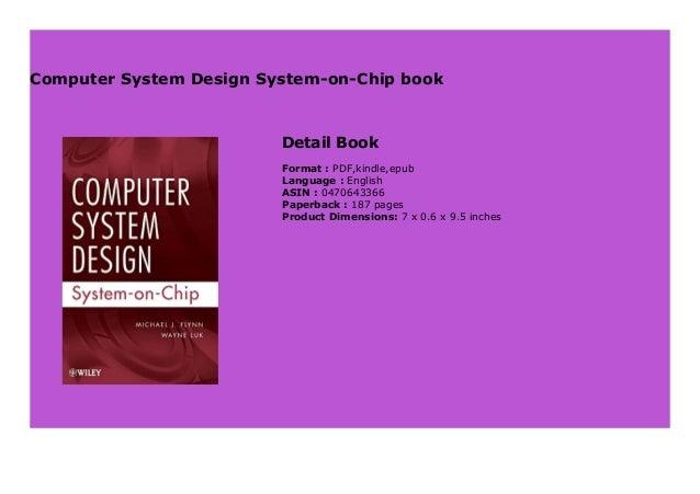 Computer System Design System On Chip Book 135