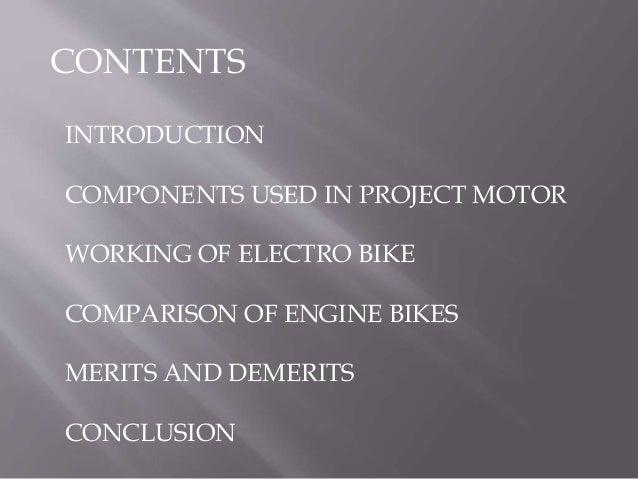 Electro bike Slide 2
