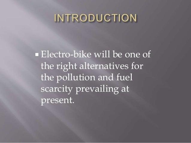 Electro bike Slide 3