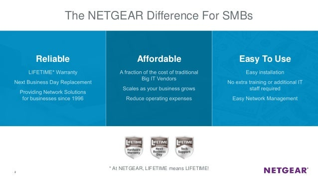 Webinar NETGEAR - La tecnologia Multi-Gigabit, switch con