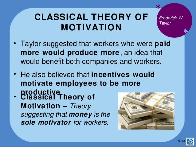 taylor money motivation