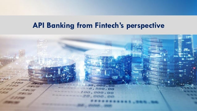 API Banking from Fintech's perspective