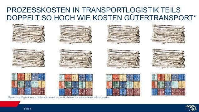 PROZESSKOSTEN IN TRANSPORTLOGISTIK TEILS DOPPELT SO HOCH WIE KOSTEN GÜTERTRANSPORT* *Quelle: https://www.linkedin.com/puls...