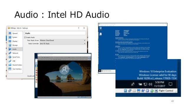 Audio : Intel HD Audio 48