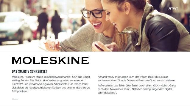 DAS SMARTE SCHREIBSET Moleskine, Premium Marke im Schreibwarenhandel, führt das Smart Writing Set ein. Das Set ist eine Ve...