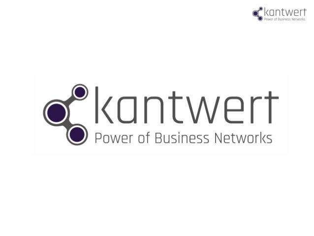 Kantwert stellt mit dem BusinessGraph das Europäische Unternehmens- und Entscheidernetzwerk als Plattform für zahlreiche A...
